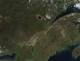 Le Québec vu de l'espace