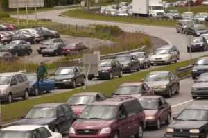 Bouchon de circulation